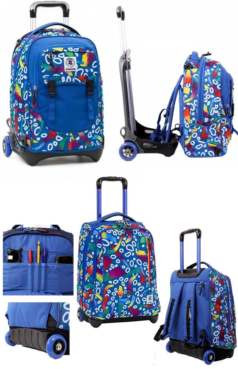 94ff41aa20 Zaini e trolley per scuola e tempo libero, outlet zaino con sconti ...